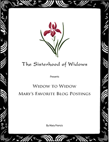 Widow to Widow – Mary's Favorite Blog Postings